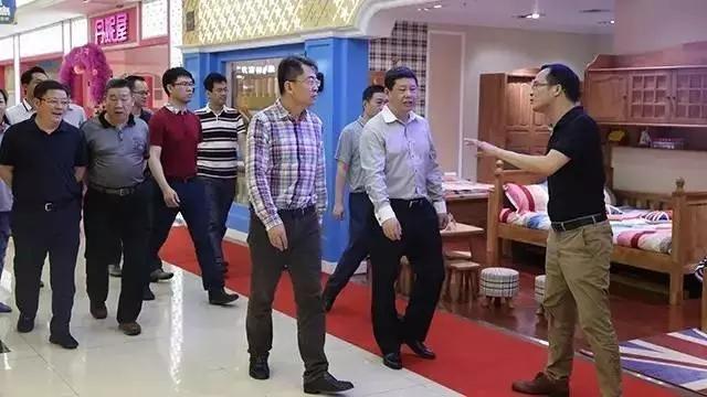 上海嘉定区工商联、全通金融谷董事长莅临佳得宝参观考察